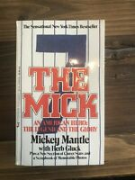 """Mickey Mantle SIGNED 1st Ed. Book """"THE MICK"""" New York Yankees Autographed"""