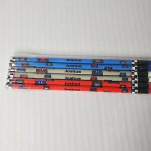 JOSHUA Personalized Pencils (34-pk) Car Racing Different Colors