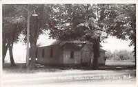 B16/ Vicksburg Michigan Mi Photo RPPC Postcard 1955 St Edwards Catholic Church
