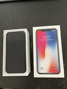 Apple iPhone X - 256GB - Space Grey (Unlocked)