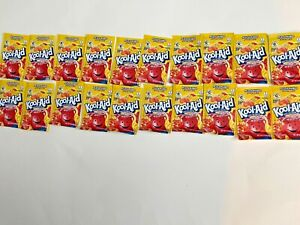20 Packs of Kool Aid PEACH MANGO Flavor Drink Mix Packet NEW Free Shipping