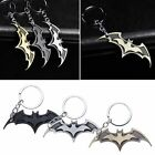 Fashion Super Hero Dark Knight Batman Bat Metal Ring Keychain Pendant Key Chain