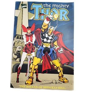 1989 Marvel Comics The Mighty Thor Ballad of Beta Ray Bill 1st Print Paperback