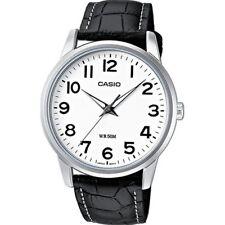 CASIO Uhr MTP-1303PL-7BVEF Leder schwarz  NEU