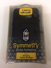 New in Box OEM OtterBox Samsung Galaxy S6 Edge+ Black Symmetry Series Cover Case