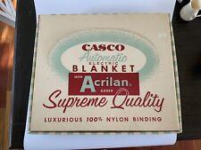 Vintage Casco Automatic Electric Blanket