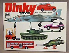 1974 USA #10 DINKY Diecast Toys CATALOG Hi Grade condition