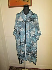HODGSON for Dale & Waters Long  Shear Blouse Layering Lagenlook Shirt, Size 36