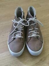 ESPRIT Unisexe Baskets Sneaker Hitop beige taille EU41 UK7 habillées RL2