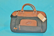 NWT CANYON OUTBACK URBAN EDGE DUFFEL BAG - LEATHER UPPER / HANDLE - WOOL - 18""