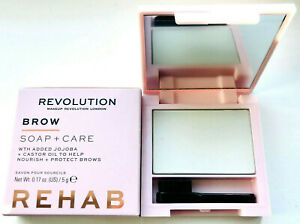MAKEUP REVOLUTION Rehab Soap & Care Styler - Groomed Eyebrow Laminate Brow Wax