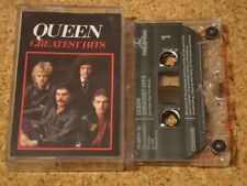 QUEEN - Greatest Hits - cassette tape album - 1992 issue, clear shell