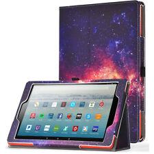Amazon Fire HD 10 2019 Tablet Case , Poetic con cierre magnético de cuero con soporte Cubierta (Galaxy)