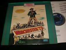 """WINCHESTER 73°JAMES STEWART°<>12"""" Laserdisc<>MCA HOME VIDEO 40325"""