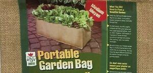 "Portable Garden Grow Bag Organic Potting Medium Sz 21"" x 12"" x 11"""