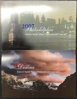 2007 US Mint Uncirculated P and D 28 coin Set