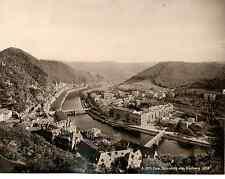 Allemagne, Ems, panorama vom Kurberg  Vintage print Photomécanique  20x25