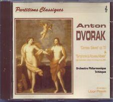 DVORAK - SYMPHONY NO 9  + SLAVONIC DANCES OP 72 Nos 2, 7 & 8 / LIBOR PESEK- CD