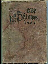 1927 Shingas - Beaver High School Yearbook - Beaver, Pa
