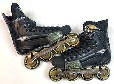 Mission Wicked Light Roller Hockey Skates Size 9.5D (9.5 Men US Shoe Size)