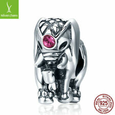 Fashion Jewelry 925 sterling Thailand Lucky Elephant Charms fit Women Bracelets