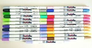ZIG BRUSHABLES Markers Dual Tips  PENS ~  X  23