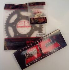 Yamaha YZFR125 / MT125 (2008 to 2017) JT Heavy Duty Chain and Sprocket Kit