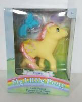 My Little Pony Basic Fun Posey Earth Ponies Retro New In Box