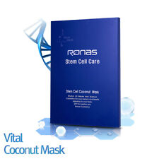 Ronas Stem Cell Coconut Mask 20g 5Sheet. Anti Aging, Moisturizing, Rejuvenating.