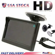 "5"" 800*480 TFT LCD HD Screen Monitor for Car Rear View Reverse Backup Camera USA"