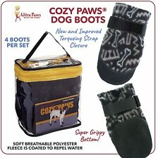 USA Designed Dog Boots - Ultra Paws Cozy Paws - Size Medium - Brand New -Premium