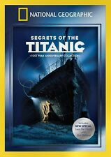 NEW  DVD // NATIONAL GEOGRAPHIC - SECRETS OF THE TITANIC - 100th ANNIVERSARY COL