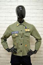 b7120f69c4d9 Camicia ZARA Donna Taglia Size M Maglia Blusa Shirt Woman Verde Manica Lunga