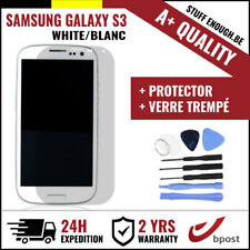 A+ LCD SCHERM/ÉCRAN WHITE & SCREEN GUARD + TOOLS FOR SAMSUNG GALAXY S3 I9300