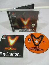 PS1 V2000 David Braben PAL G Frontier Development 1998 1 player Complete Tested.