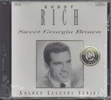 "BUDDY RICH  ""Sweet Georgia Brown""  GOLDEN LEGENDS SERIES  NEW SEALED JAZZ  CD"