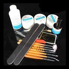 Topcoat Cleanser Brush UV Gel Nail Art Starter Kit Set