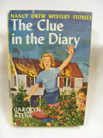 Nancy Drew The Clue in the Diary #7 Book Club Edition