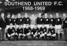 SOUTHEND UNITED FOOTBALL TEAM PHOTO>1968-69 SEASON