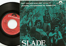 SLADE GET DOWN AND GET WITH IT NORWAY DANISH 45+PS 1971 SKINHEAD NODDY HOLDER