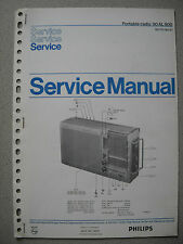 Philips 90 AL800 Kofferradio Service Manual