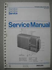 Philips 90 AL800 Kofferradio Service Manual
