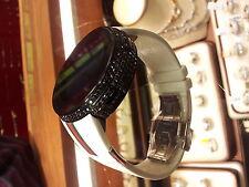 New Men's YA114214 digital Gucci 3.0ct.aprx.real Diamond MultipleTime Zone watch