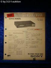 Sony Service Manual ST V50L / V70L Tuner (#0842)