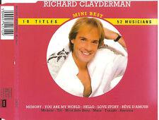 RICHARD CLAYDERMAN - mini best MAXI-CD 10TR FRANCE 1988