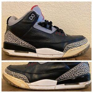 "Air Jordan Retro 3 ""Black Cement"" (2011) III"