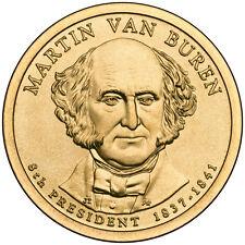 2008D $1 Martin Van Buren - Eighth U.S President BU
