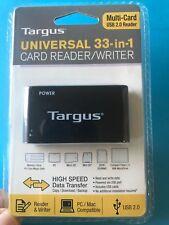 TARGUS UNIVERSAL 33-IN-1 CARD READER/WRITER