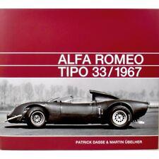 ALFA ROMEO TIPO 33 / 1967 - LIVRE NEUF