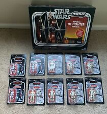 Star Wars Vintage Collection Imperial Tie Fighter, First Order Stormtrooper Lot